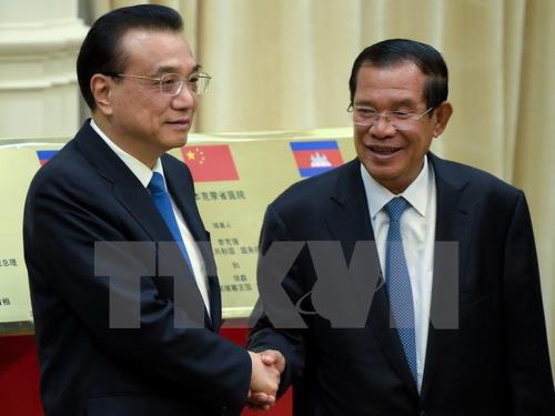 Trung Quốc đẩy mạnh hợp tác đầu tư tại Campuchia - Ảnh 1.