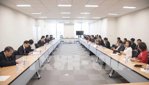 Việt Nam và Nhật Bản đối thoại hợp tác kinh tế - Ảnh 1.