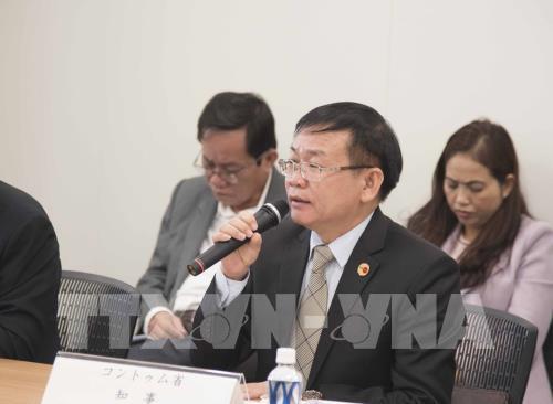 Việt Nam và Nhật Bản đối thoại hợp tác kinh tế - Ảnh 2.