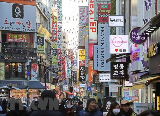Thương chiến Mỹ-Trung có thể làm suy yếu hệ thống tài chính Hàn Quốc - Ảnh 1.
