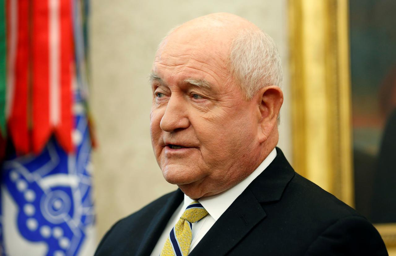 US Agriculture Secretary Sonny Perdue