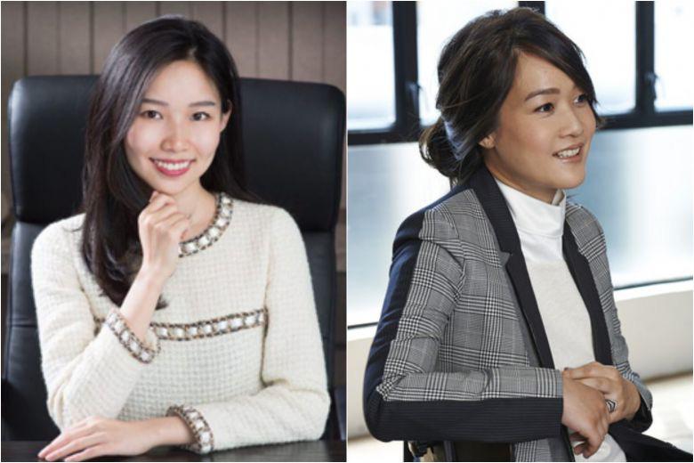 Theresa Tse (left) and Sonia Cheng