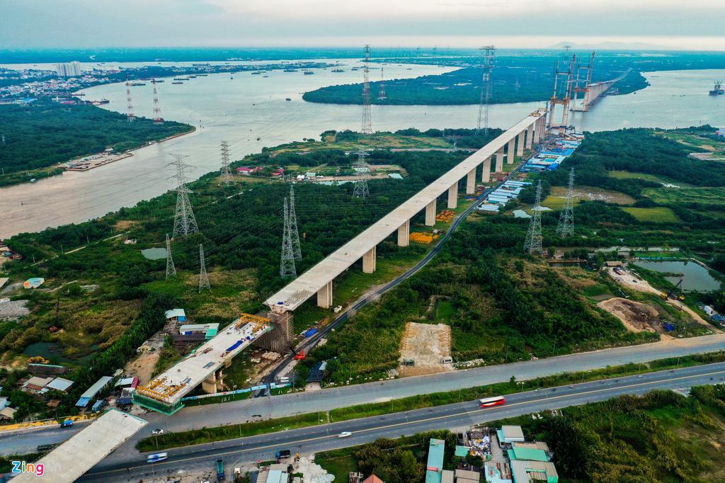 Cao tốc Bến Lức - Long Thành dở dang sau 5 năm thi công - Ảnh 11.