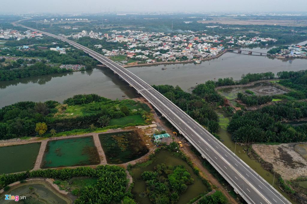 Cao tốc Bến Lức - Long Thành dở dang sau 5 năm thi công - Ảnh 6.