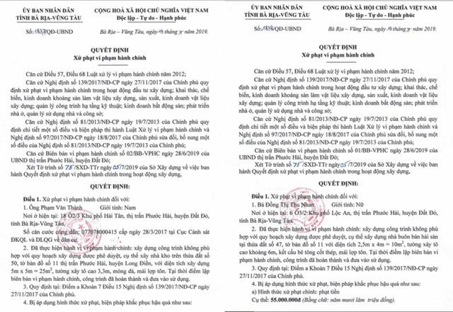 Vụ ồ ạt xây dựng nhà chiếm đường biển: Phớt lờ chỉ đạo của UBND tỉnh Bà Rịa - Vũng Tàu - Ảnh 2.