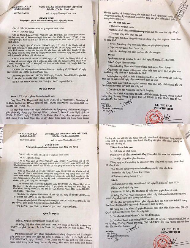 Vụ ồ ạt xây dựng nhà chiếm đường biển: Phớt lờ chỉ đạo của UBND tỉnh Bà Rịa - Vũng Tàu - Ảnh 3.