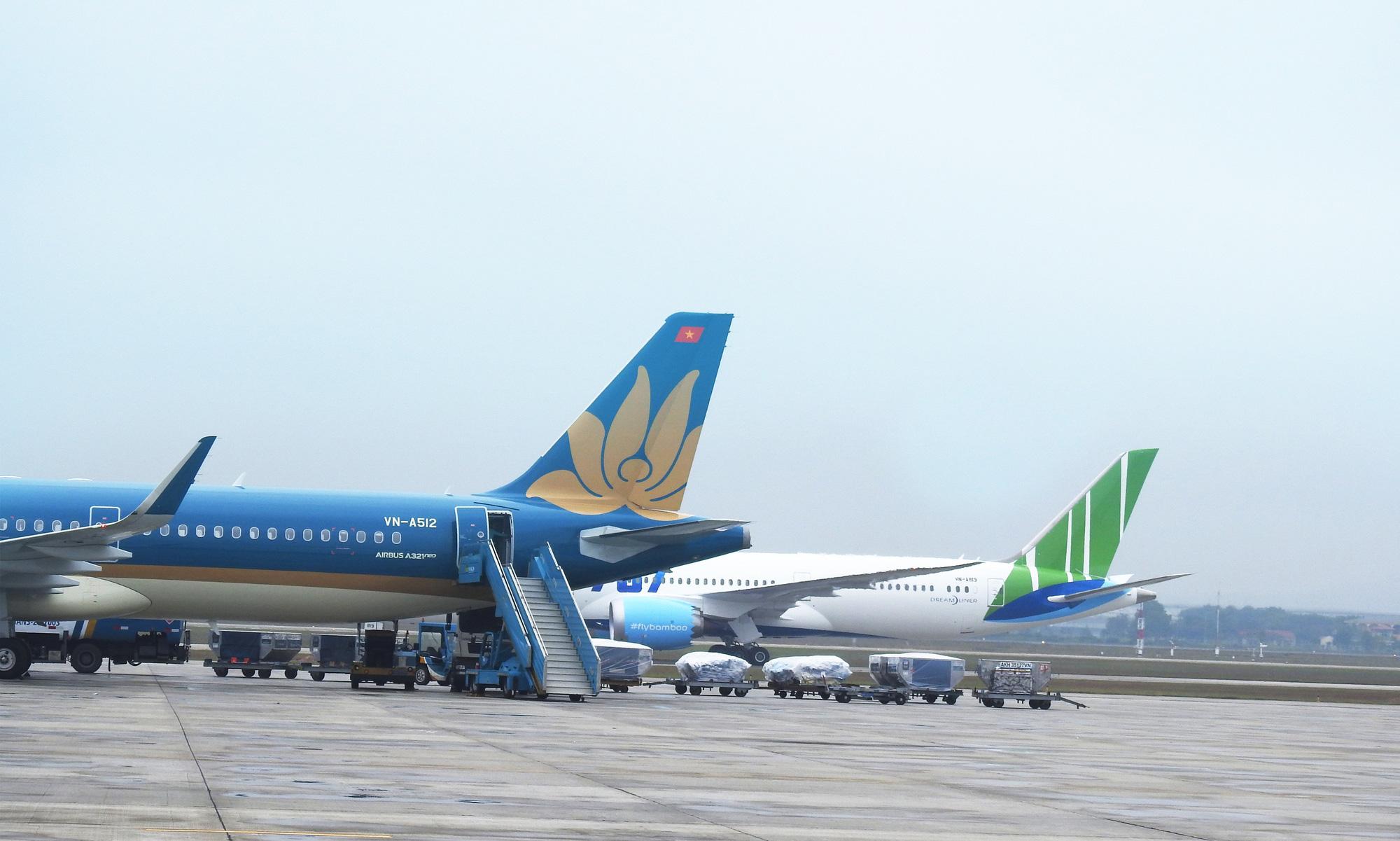 19 đường bay với Trung Quốc bị dừng, Vietnam Airlines tăng chuyến chặng Hà Nội - TP HCM và muốn cho thuê bớt tàu bay - Ảnh 1.