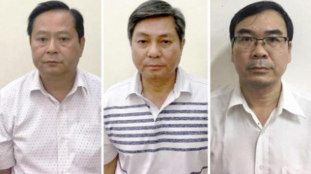 Xét xử nguyên Phó Chủ tịch UBND TP HCM Nguyễn Hữu Tín cùng đồng phạm - Ảnh 1.