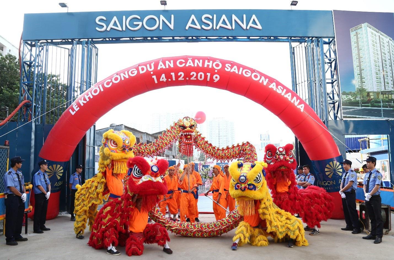 Khởi Công dự án Saigon Asiana –  Không gian Xanh giữa Chợ Lớn - Ảnh 1.