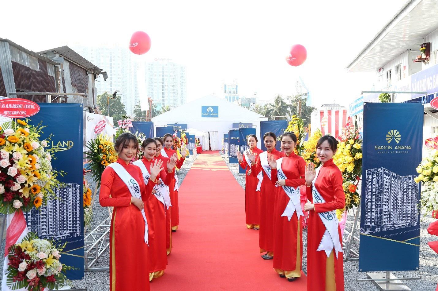 Khởi Công dự án Saigon Asiana –  Không gian Xanh giữa Chợ Lớn - Ảnh 2.