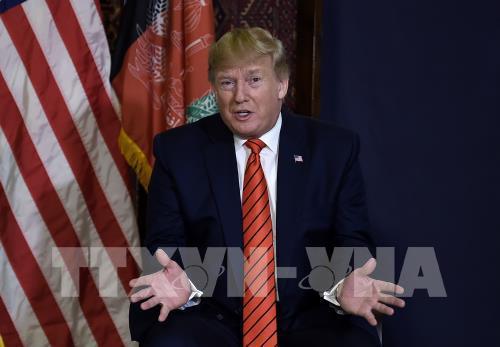 Tổng thống Mỹ nêu vấn đề thương mại với EU trước thềm hội nghị NATO - Ảnh 1.