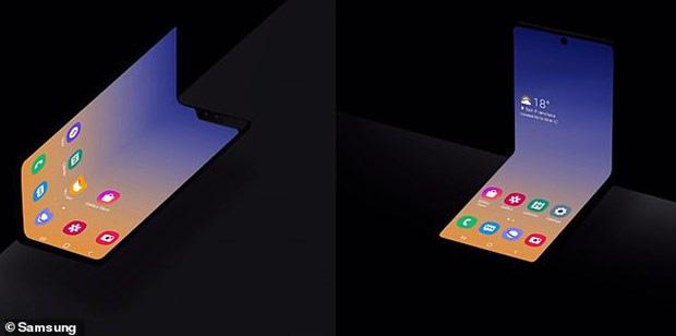 Điện thoại gập bí ẩn của Samsung sẽ ra mắt vào tháng 2 năm sau - Ảnh 1.