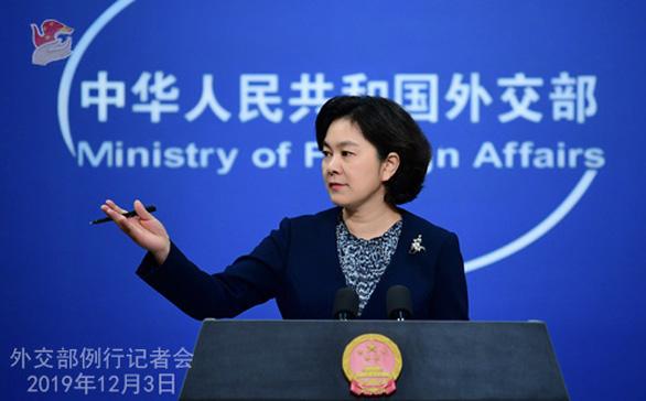 Sau tuyên bố của NATO, Trung Quốc nói mình là sức mạnh hòa bình - Ảnh 1.