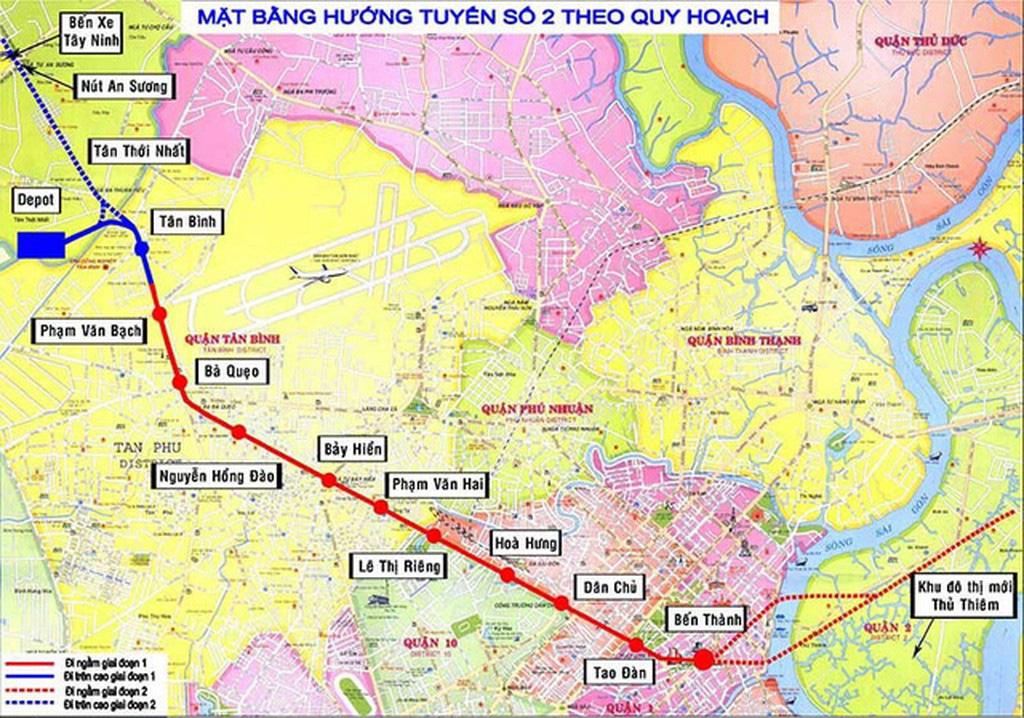 TP HCM muốn vay lại 29.885,25 tỉ đồng của Chính phủ để làm Metro số 2 - Ảnh 1.