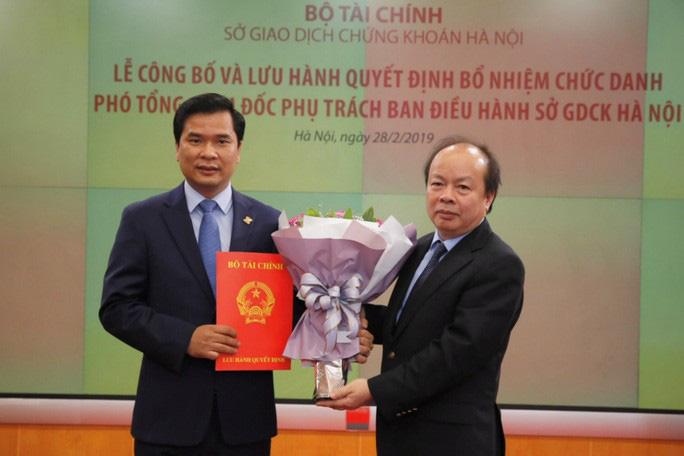 Bộ Tài chính lên tiếng về việc bổ nhiệm thần tốc lãnh đạo Sở Giao dịch chứng khoán Hà Nội - Ảnh 1.