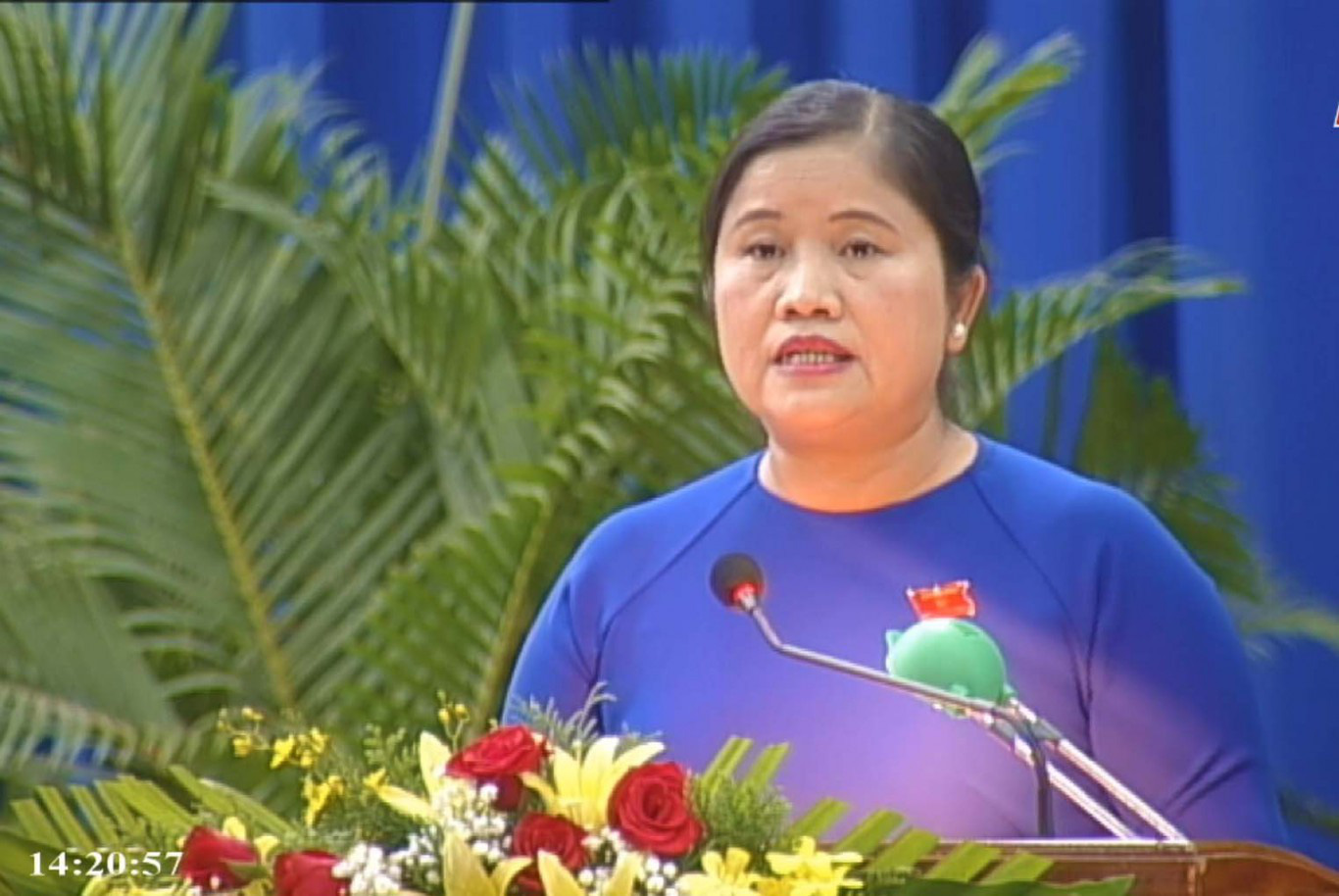Bà Trần Tuệ Hiền trở thành tân Chủ tịch UBND tỉnh Bình Phước - Ảnh 1.