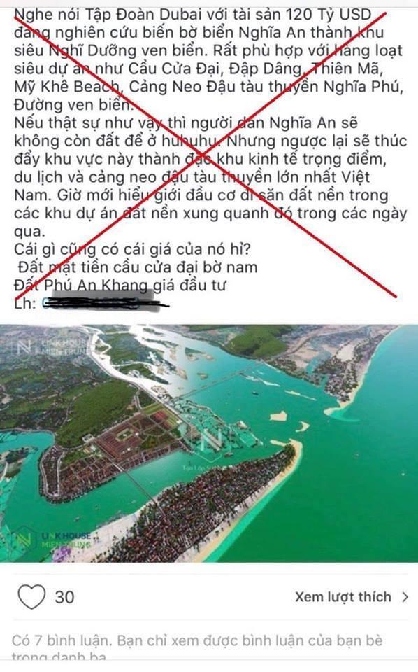 Nhân viên bất động sản tung tin Quảng Ngãi có đặc khu bị công an xử lý - Ảnh 1.