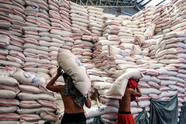 Dự trữ gạo tháng 2 của Philippines tăng hơn 19%  - Ảnh 1.