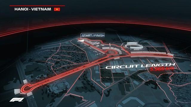 Vingroup khởi công dự án Đường đua công thức 1 Hà Nội - Ảnh 1.