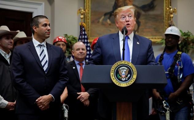 Tổng thống Trump tuyên bố Mỹ phải thắng trong cuộc đua 5G - Ảnh 1.