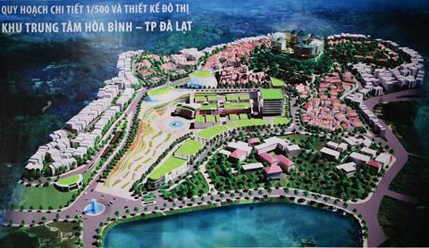 80 kiến trúc sư kiến nghị xem lại quy hoạch khu trung tâm Đà Lạt - Ảnh 1.