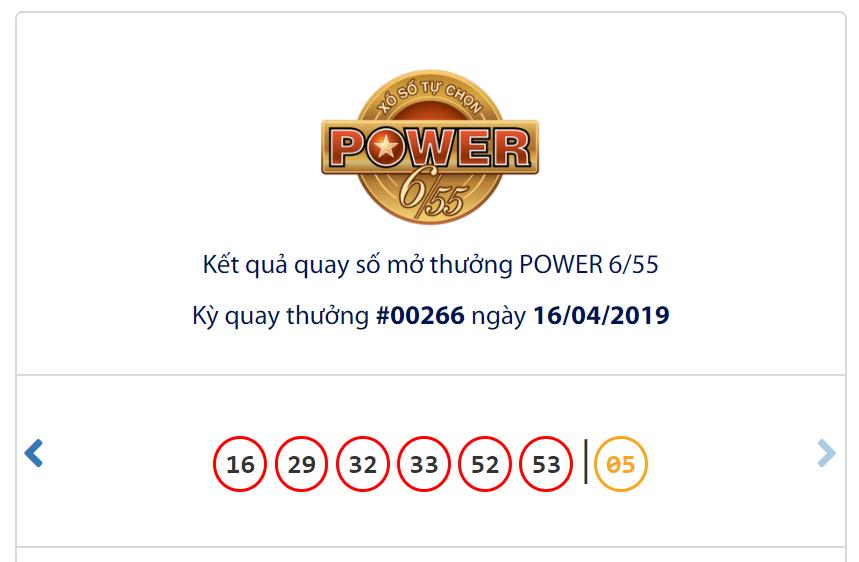 Kết quả Vietlott Power 6/55 ngày 16/4: Vẫn chưa tìm thấy chủ nhân của jackpot 1 trị giá 114, 2 tỉ đồng - Ảnh 1.