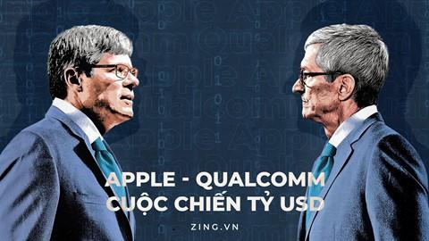 Apple, Qualcomm và cuộc chiến pháp lý sặc mùi tiền bạc - Ảnh 1.