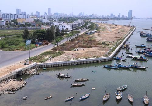 Ý kiến trái chiều về dự án lấn sông xây biệt thự ở Đà Nẵng - Ảnh 1.