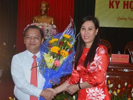 Bà Bùi Thị Quỳnh Vân được bầu làm Phó Bí thư Tỉnh ủy Quảng Ngãi  - Ảnh 1.