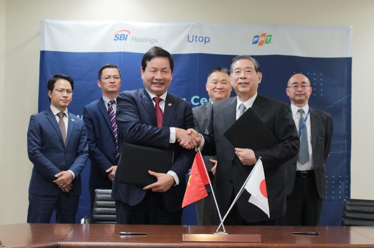 Quỹ đầu tư SBI Holdings cùng FPT đầu tư 3 triệu USD vào công ty khởi nghiệp Utop - Ảnh 1.