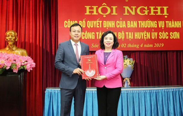 Tân Phó Bí thư Huyện ủy Sóc Sơn từng nhận lương tháng hơn 46 triệu đồng trên ghế Tổng Giám đốc doanh nghiệp - Ảnh 3.