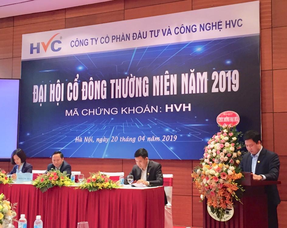 Tăng vốn 17 lần giai đoạn 2014 - 2017, HVC Group phát hành tối đa 150 tỉ đồng trái phiếu chuyển đổi năm 2019, bổ sung thành viên HĐQT từ Trung Quốc - Ảnh 1.