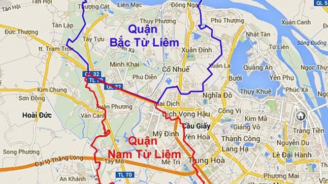 Hà Nội thông qua Dự thảo điều chỉnh địa giới 3 quận - Ảnh 1.
