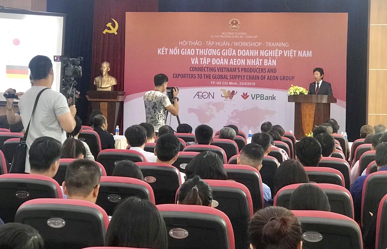 Cơ hội xuất khẩu trực tiếp hàng Việt qua kênh phân phối AEON Nhật Bản - Ảnh 1.