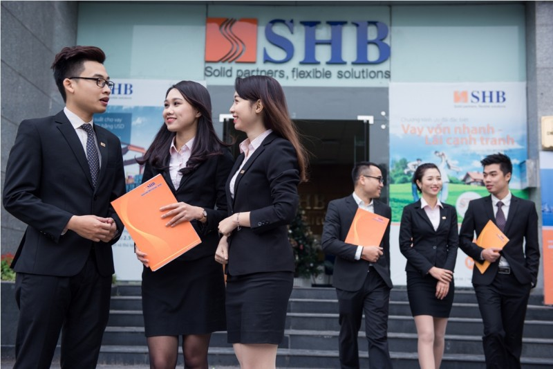 SHB báo lãi trước thuế gần 744 tỉ đồng trong quí đầu năm - Ảnh 1.