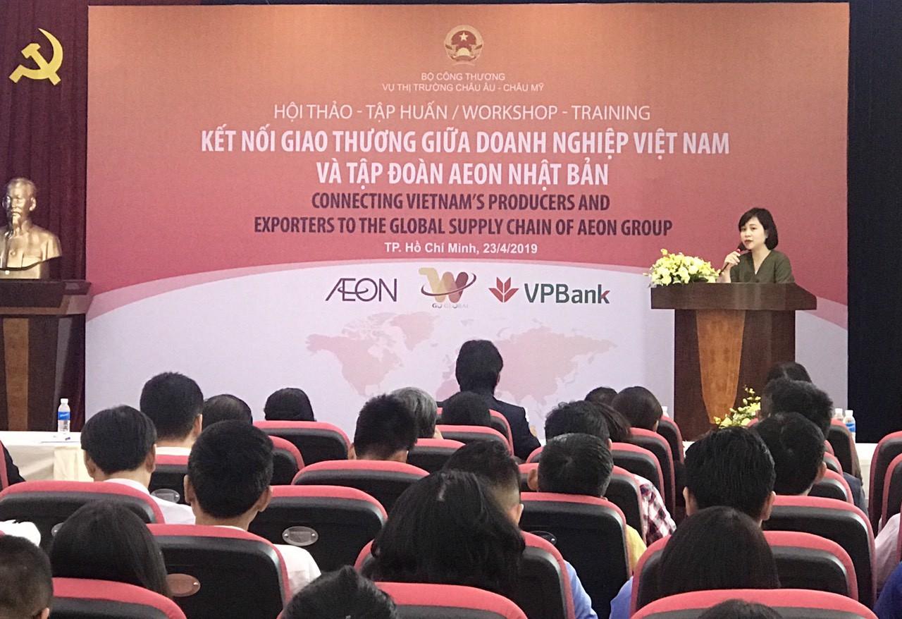 Cơ hội xuất khẩu trực tiếp hàng Việt qua kênh phân phối AEON Nhật Bản - Ảnh 2.