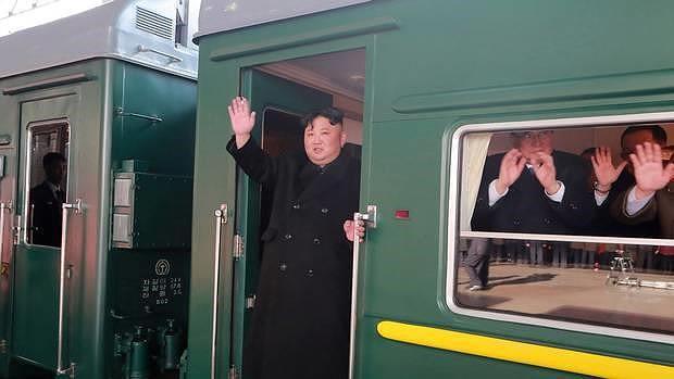 Tàu bọc thép của ông Kim sẽ đến Nga vào ngày mai - Ảnh 1.