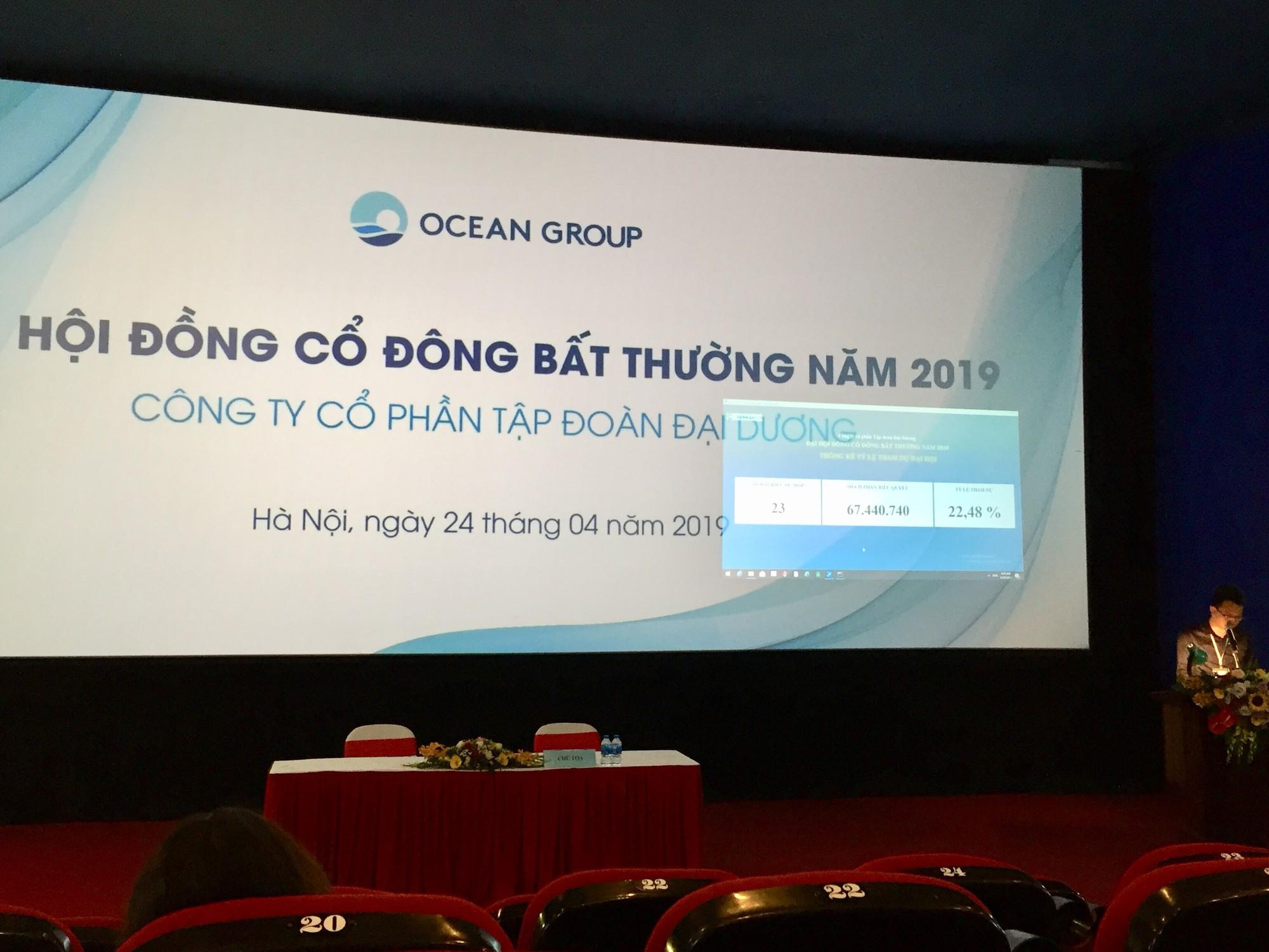 [Video] Nóng chuyện nhân sự cấp cao OceanGroup: Chưa thể bãi nhiệm anh trai ông Hà Văn Thắm và bổ nhiệm thành viên HĐQT 8x - Ảnh 1.