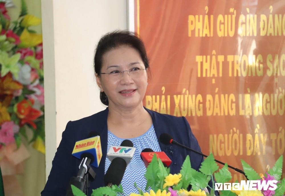 Chủ tịch Quốc hội: Sức khỏe của Tổng Bí thư, Chủ tịch nước Nguyễn Phú Trọng ổn định, sẽ sớm trở lại làm việc - Ảnh 1.