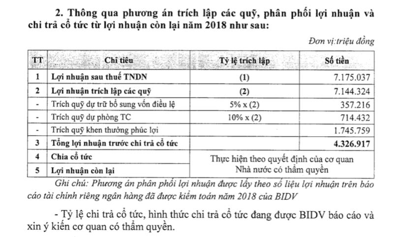 ĐHĐCĐ BIDV: Điều chỉnh giảm lãi 2019 còn 10.300 tỉ đồng do trích lập dự phòng, phát hành riêng lẻ cho KEB Hana Bank - Ảnh 1.