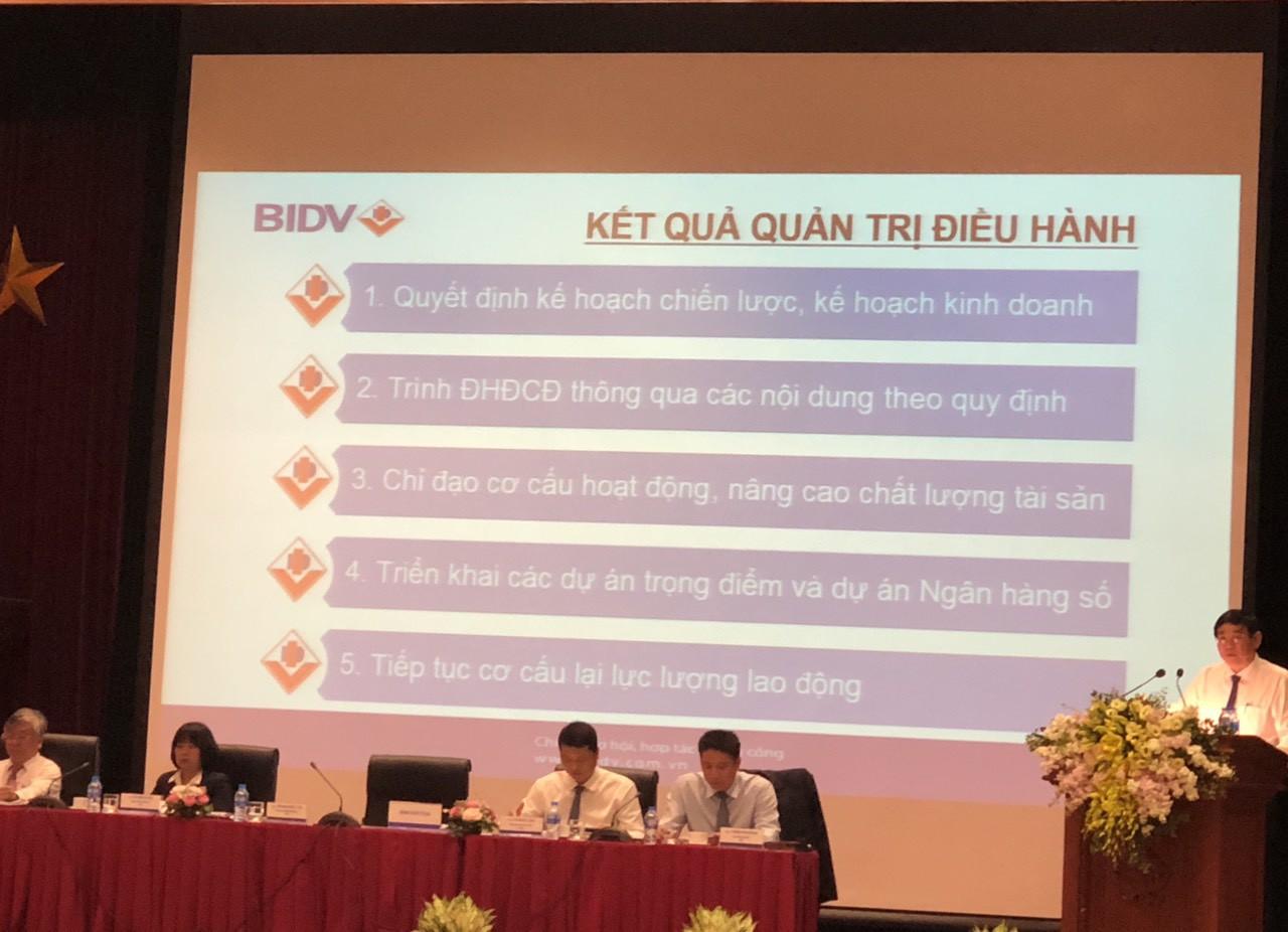 ĐHĐCĐ BIDV: Điều chỉnh giảm lãi 2019 còn 10.300 tỉ đồng do trích lập dự phòng, phát hành riêng lẻ cho KEB Hana Bank - Ảnh 2.