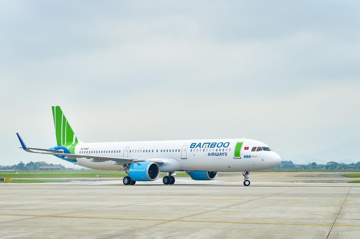 Bamboo Airways liên tục đón tàu bay mới trước thềm nghỉ lễ - Ảnh 1.