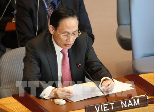 """Thứ trưởng Lê Hoài Trung đánh giá về kết quả Diễn đàn """"Vành đai và Con đường"""" - Ảnh 1."""