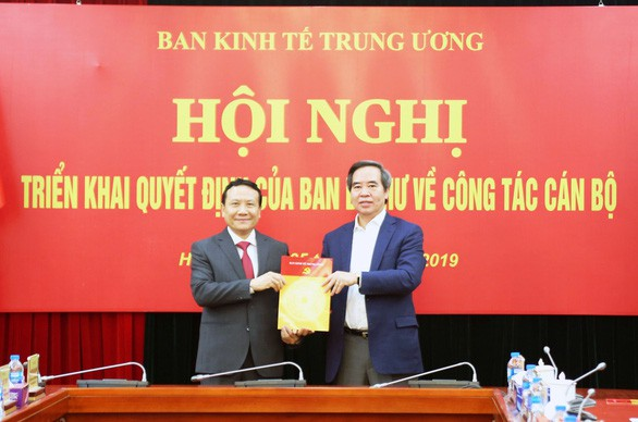 Phó giám đốc ĐHQG Hà Nội làm phó trưởng Ban Kinh tế trung ương - Ảnh 1.