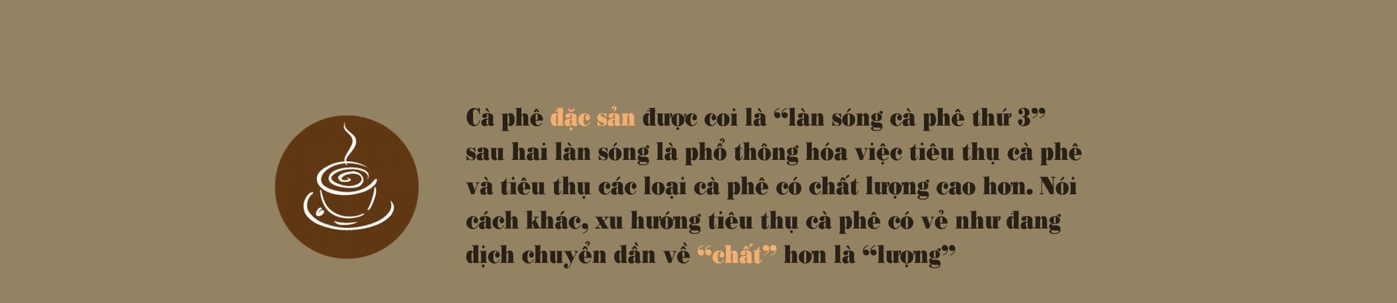 [eMagazine] Cà phê đặc sản: Cửa ngách để nâng tầm cà phê Việt - Ảnh 1.