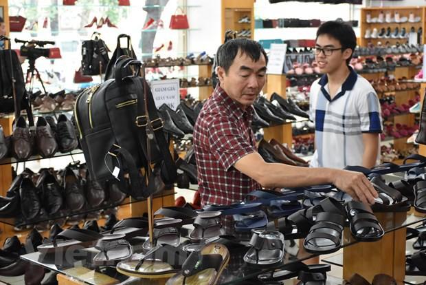 Nghỉ Tết kéo dài, xuất khẩu da giày quý 1 vẫn tăng trưởng hai con số - Ảnh 1.