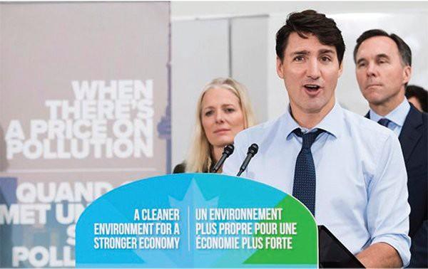 Thuế carbon ở Canada: Đối đầu giữa liên bang và những tỉnh cứng đầu  - Ảnh 1.