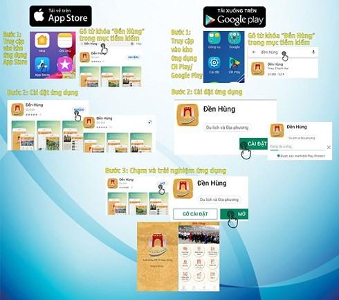 Giỗ Tổ Hùng Vương 2019: Cung cấp ứng dụng CNTT về Đền Hùng trên smartphone - Ảnh 2.