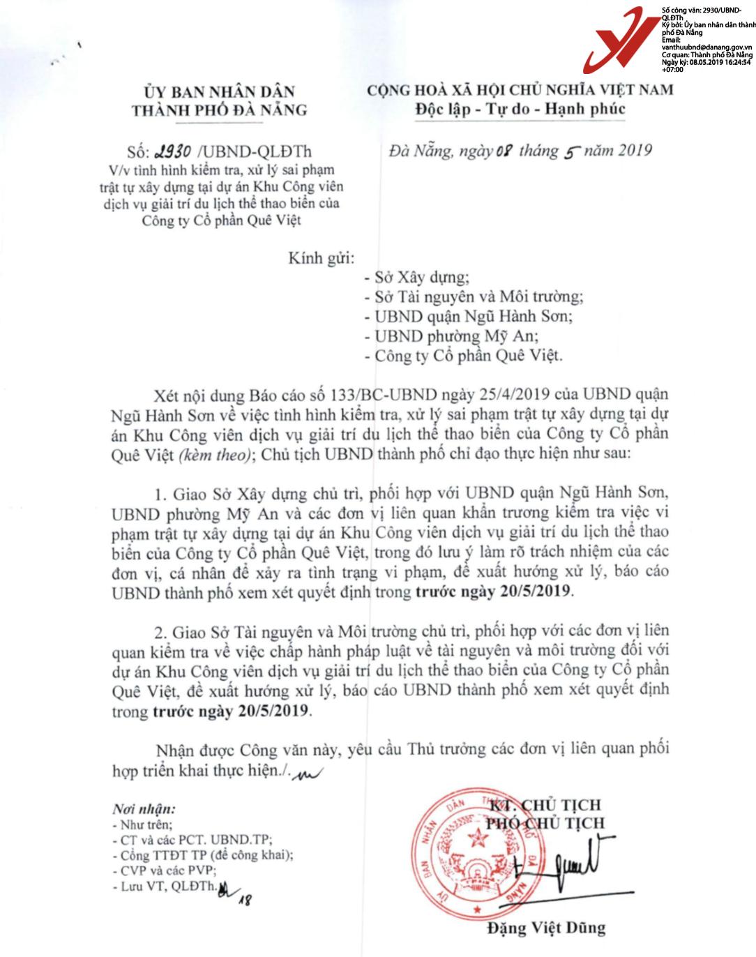 Xây không phép hàng loạt hạng mục tại Khu Công viên dịch vụ giải trí du lịch thể thao biển - Danabeach ở Đà Nẵng - Ảnh 3.