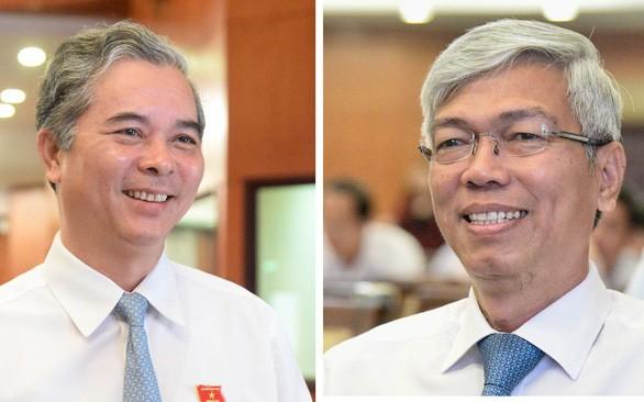 Giới thiệu ông Võ Văn Hoan và ông Ngô Minh Châu để bầu phó chủ tịch UBND TP.HCM - Ảnh 1.